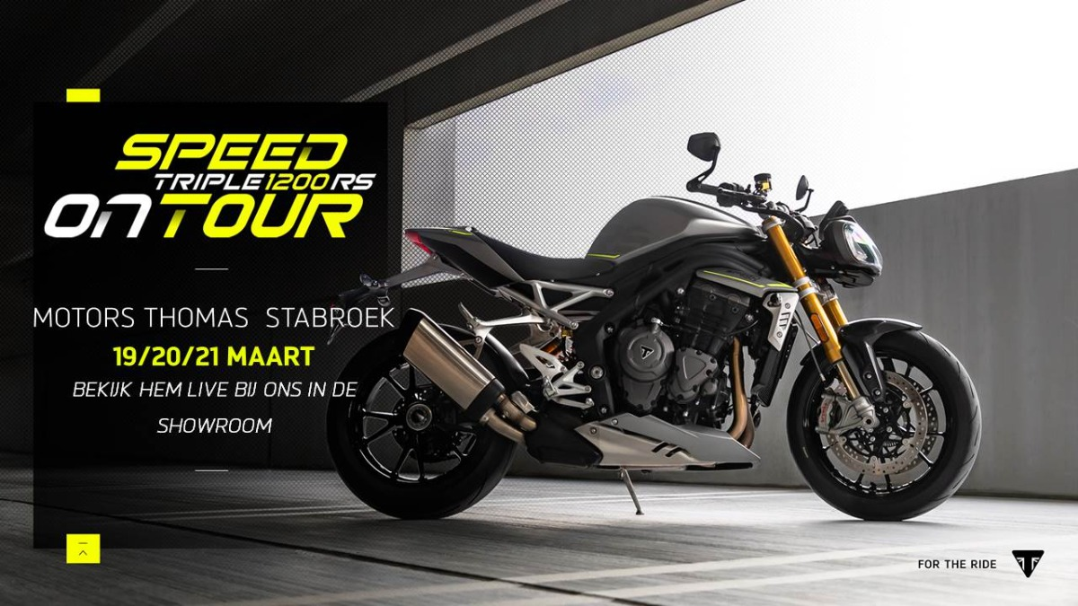 Speed Triple 1200 RS on Tour